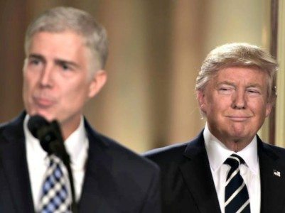 Trump Nominates Judge Neil Gorsuch to Supreme Court