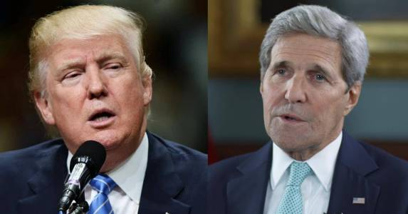 Trump Slams John Kerry For 'Illegal Meetings' With Iran: 'Was he registered under the Foreign Agents Registration Act?'