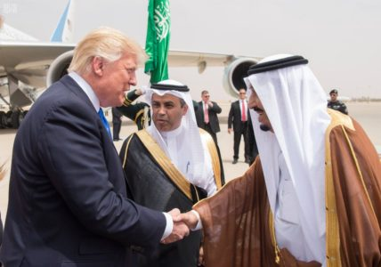 GREAT AGAIN: Unlike Obama, Trump doesn't bow to Saudi king.