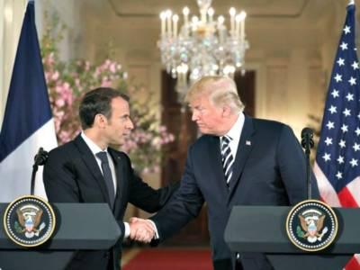 Trump to Macron: E.U. 'Worse than China' on Tariffs.