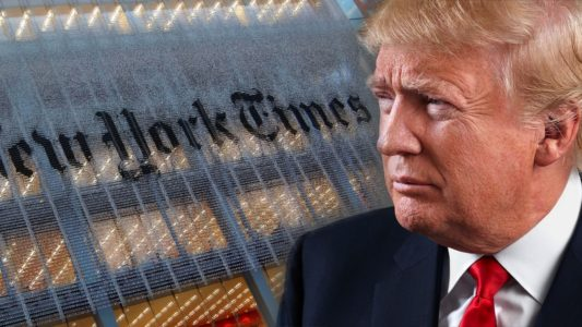 NYT Is Sponsoring An Assassination Depiction Of Donald Trump