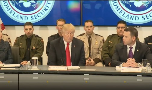 President Trump Participates in a Customs and Border Protection Roundtable – Video