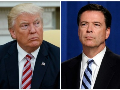 Donald Trump Goes to War: James Comey a 'Weak and Untruthful Slime Ball'