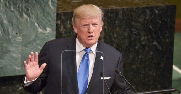 At the UN, Trump Ends the Era of Leading From Behind