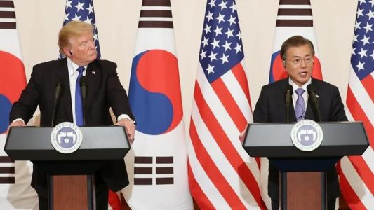 Trump urges North Korea to 'make a deal' regarding nuclear weapons program