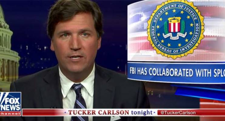 Tucker Carlson: The FBI Has a Long History of Collaborating with the SPLC