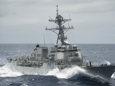 U.S. Navy Destroyer Heads Towards Syria as Trump Vows 'Major Decision'