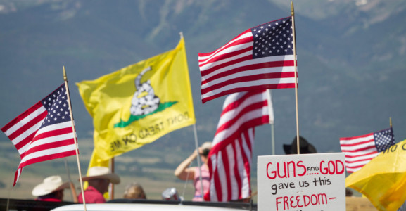 Colorado Students Hold Pro-Second Amendment Walkout.