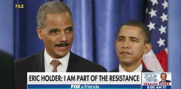 More threats of violent unrest by Eric Holder if Mueller fired