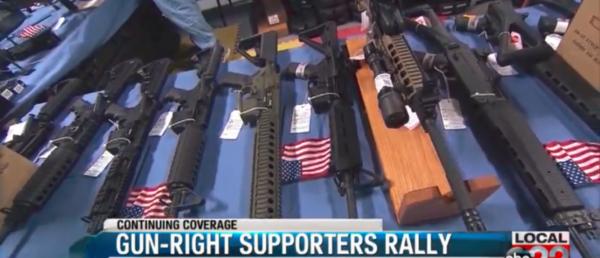 New Gun Control Laws Spawn Second Amendment Protest In Vermont.
