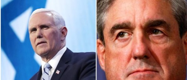 MUELLER ON THE CLOCK – Pence Tells Mueller: Time's Up On Your Investigation.