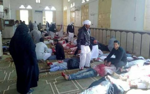 Over 200 Killed in Egypt Mosque Attack; UPDATE: Trump Renews Call for Travel Ban.