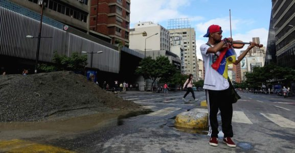 This Young Violinist Inspired Venezuelans to Stand for Freedom. Now He's Rotting in Prison.