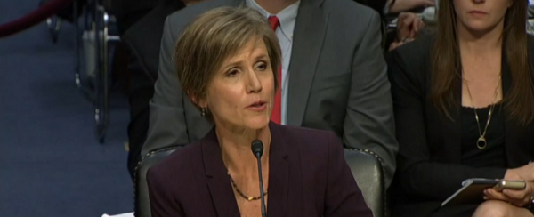 New Justice Department Records Show Strong Support by Mueller Deputy Andrew Weissmann, Other Top DOJ Officials for Yates' Refusal to Enforce President Trump Travel Ban