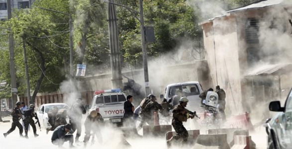 Kabul Suicide Bombing Leaves 30 Dead, Including At Least Eight Journalists.