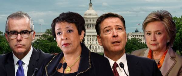 Comey, DOJ officials may be in crosshairs as long-awaited IG report on Clinton probe set to drop.