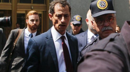Breaking: Democrat Anthony Weiner Gets 21 Month Prison Sentence for Sexting Minor