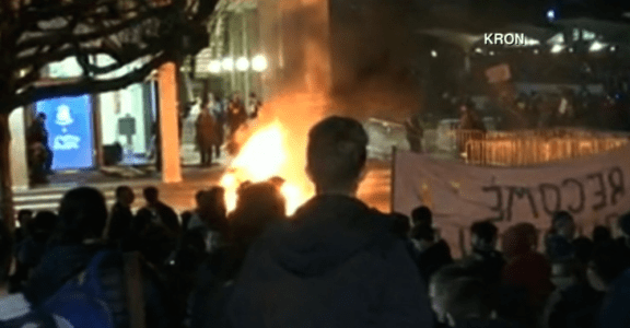 U.C. Berkeley Burns Free Speech