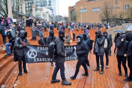 """Alt-Left Melts Down Over """"Unmasking Antifa"""" Act"""