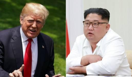 Trump, Kim arrive for US-N. Korea summit.