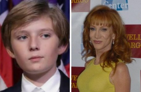 Report: Barron Trump 'Panicked' after Seeing Father Beheaded on TV