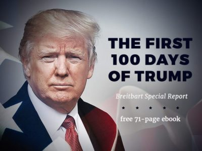 Breitbart News Releases e-Book: 'The First 100 Days of Trump'