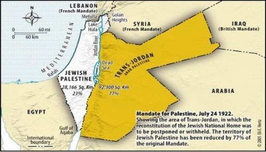 Since When Did The Palestinians Become Entitled To A State?