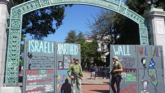 UC-Berkeley: Promoting Jew-hatred and Terrorism