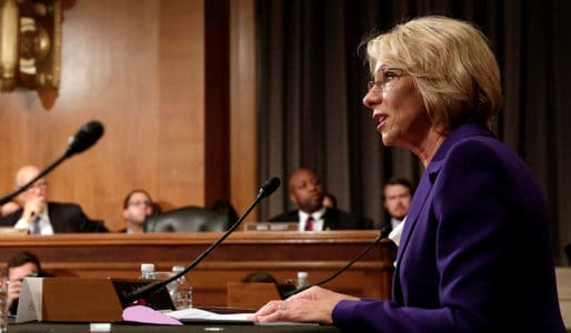 Senate Confirms DeVos As Education Secretary After Pence Casts Tie-Breaking Vote