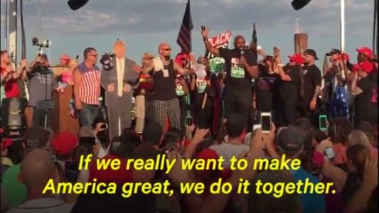 Black Lives Matter Leader: What I Experienced At Pro-Trump Rally 'Restored My Faith In Some Of These People'