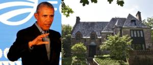 Obama Attacks Wealthy For Big Houses Before Returning To His $8 Million Mansion.