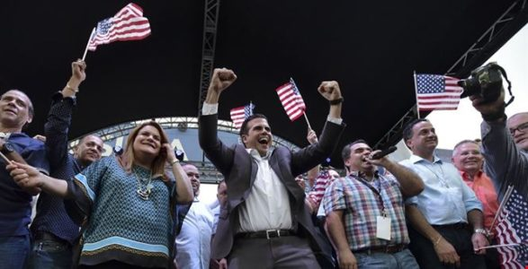 Puerto Rican voters back statehood in questioned referendum