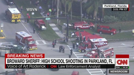 BREAKING: Shooting At Florida High School, Sheriff Reports At Least 14 Victims