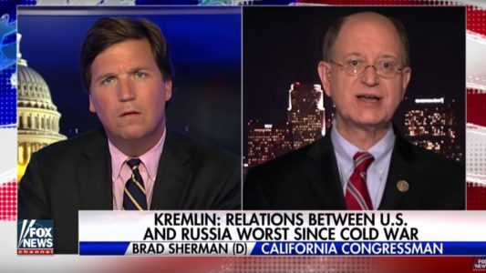 Watch: Tucker Carlson exposes Dem who refuses to provide any real evidence of Trump/Russia collusion.