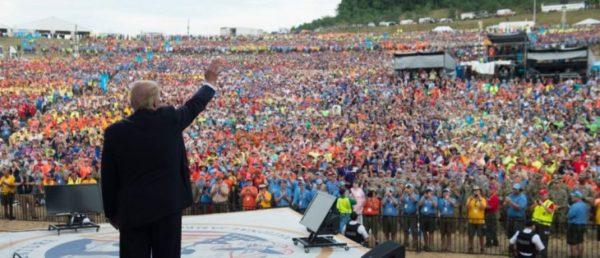 "POTUS Trump RIPS Obama – Scouts Chant ""We Love Trump!"" at National Jamboree (VIDEO)"