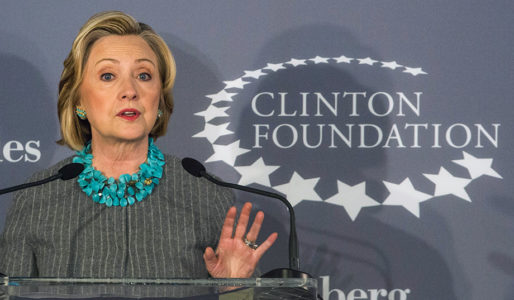 The Clock Ticks for the Clinton Foundation.