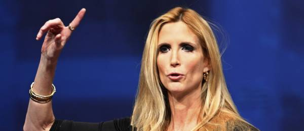 Abolish ICE? Ann Coulter Wants To Disband The FBI.