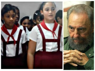 Creepy: Children Forced to Praise Castro as 'Every Girl's Boyfriend' for Birthday – VIDEO