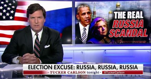 Tucker Carlson Trolls Democrats: 'Unintended Consequences' of Trump-Russia 'Hysteria' Will Be 'Fun to Watch' (VIDEO)