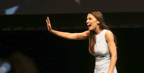 Democratic Socialism: Alexandria Ocasio-Cortez Wears $3,500 Outfit For Working Class Photo Op.