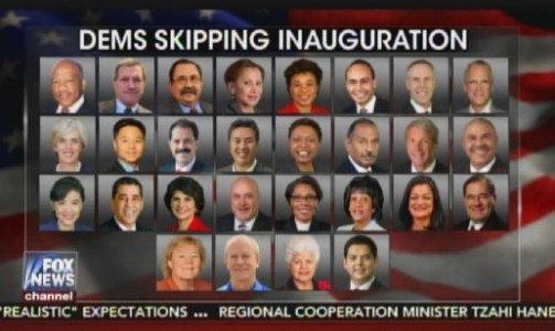 SORE LOSER PARTY: At Least 20% of Remaining House Democrats to Skip Trump Inauguration