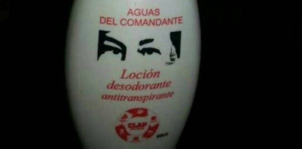 "No Deodorant in Venezuela? No Problem: Introducing ""Waters of the Commander"" with Hugo Chávez's Eyes."