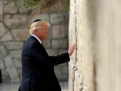 'An Event of Almost Biblical Significance' –  President Trump Makes History: Will Move USA's Embassy in Israel to Jerusalem.