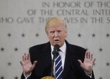 "Trump at CIA: ""We have to get rid of ISIS. We have no choice….This is a level of evil that we haven't seen"" – VIDEO"