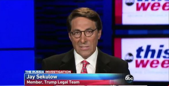 Trump lawyer says nothing illegal in son's Russia meeting