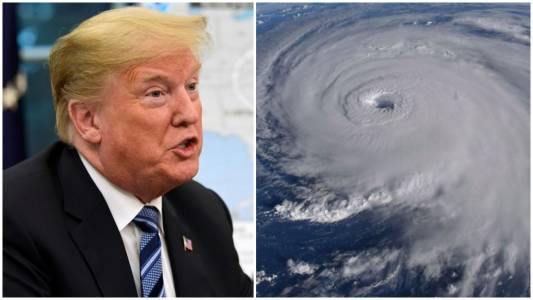 MEDIA BUZZ: Florence still at sea and already Trump is being hit for response.