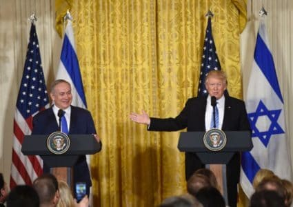 BIBI SMILES AGAIN AT WHITE HOUSE