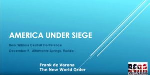 AMERICA UNDER SIEGE: THE NEW WORLD ORDER