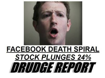 Facebook Eliminates 93% of Traffic to Top Conservative Sites — Stocks Plunge 24%