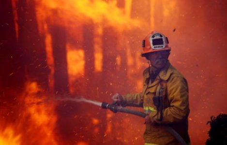 DISTURBING facts emerge about cause of California fires